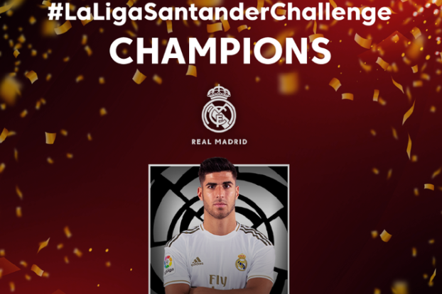 Marco Asensio won a FIFA 20 competition from the comfort of his home Twitter/@LaLigaEN