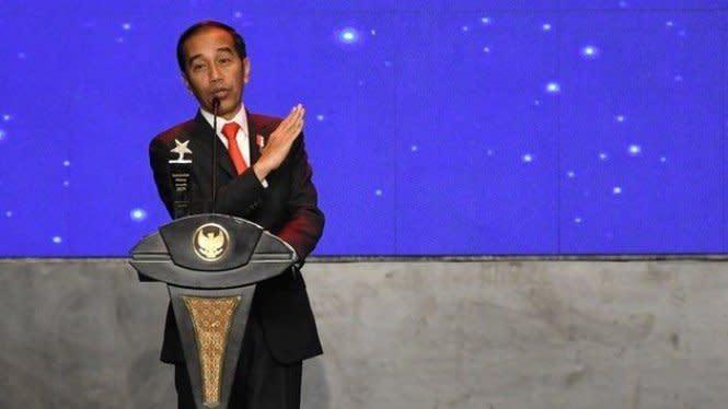 Jadi Negara Berpendapatan Menengah Atas, Jokowi: RI Harus Terus Maju