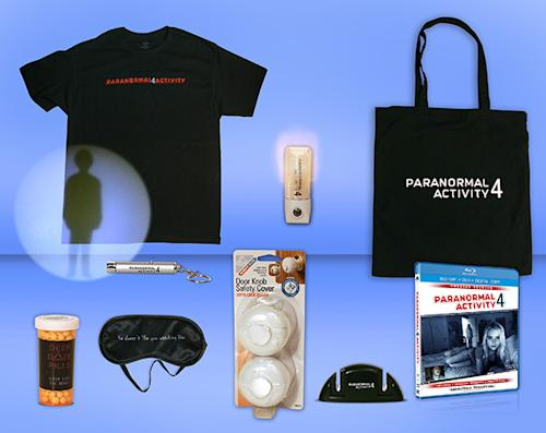 Yahoo! Movies Giveaway: 'Paranormal Activity 4′ Blu-ray Prize Pack