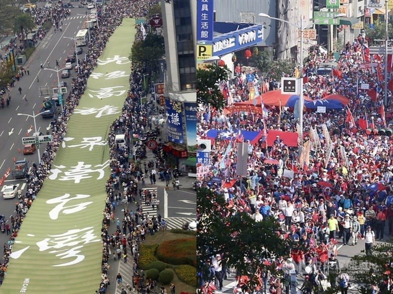 挺韓、罷韓後,你覺得選舉形勢改變了嗎?