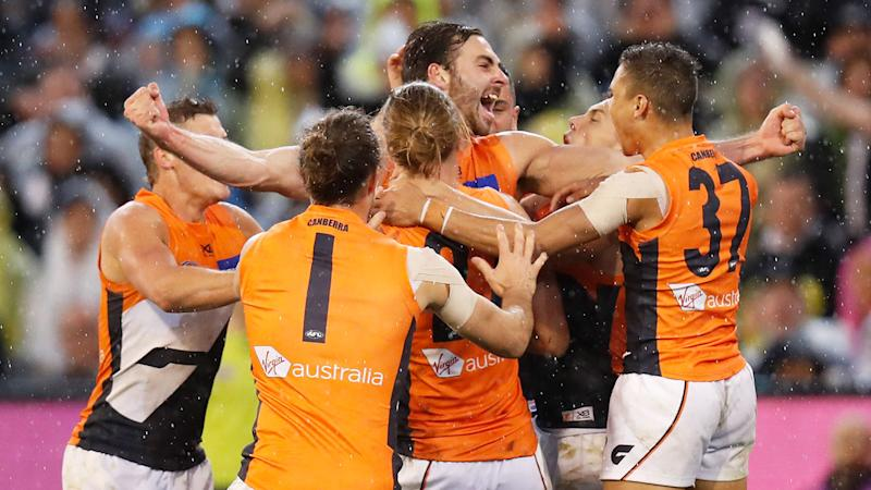 GWS won through to the first grand final in the club's history.