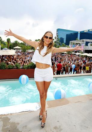 Jennifer Lopez Shooting 3D Concert Film