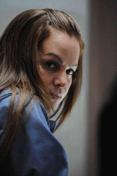 "This publicity photo provided by Pantelion Films shows Jenni Rivera as Maria Tonorio in a scene from the film, ""Filly Brown."" The film releases on April 19, 2013. (AP Photo/Pantelion Films/Lionsgate, John Castillo)"