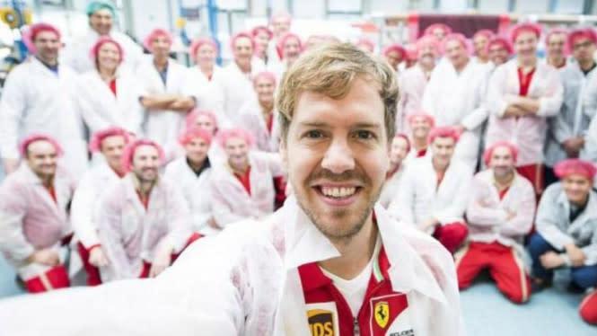 Masalah Finansial Bukan Penyebab Vettel Tinggalkan Ferrari