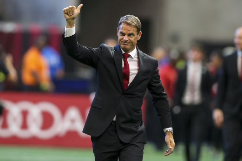 Frank de Boer named Netherlands coach