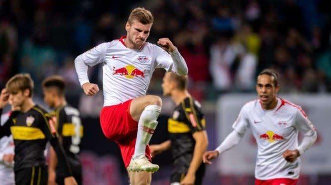 Penyerang RB Leipzig, Timo Werner