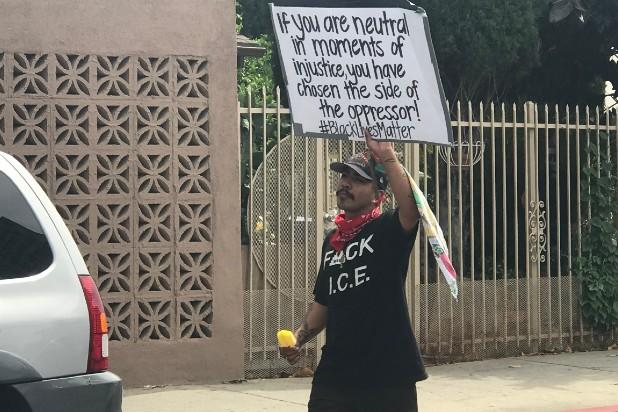 Hollywood protest
