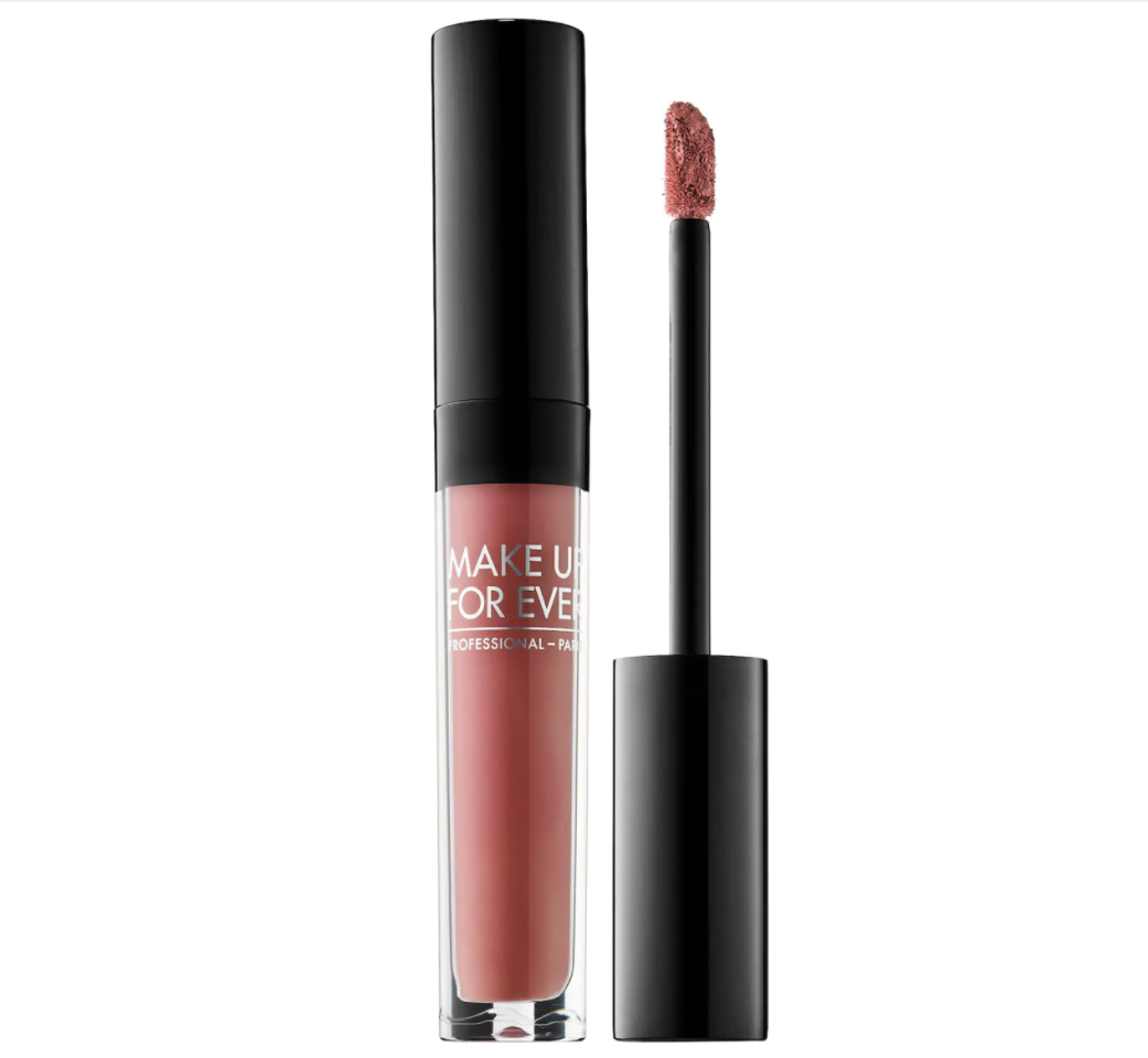 """<p><strong>Make Up For Ever </strong></p><p>sephora.com</p><p><strong>$20.00</strong></p><p><a href=""""https://go.redirectingat.com?id=74968X1596630&url=https%3A%2F%2Fwww.sephora.com%2Fproduct%2Fartist-liquid-matte-P416156&sref=https%3A%2F%2Fwww.harpersbazaar.com%2Fbeauty%2Fmakeup%2Fg34079659%2Fbest-nude-lipstick-dark-skin-tones%2F"""" target=""""_blank"""">SHOP</a></p><p>You'll also want to consider undertones when looking for a good nude. If you have tan to medium skin, Osbourne sys to look for cooler shades of pink. Another pick of his is this liquid matte lipstick that glides on super smooth and lasts for hours. </p>"""
