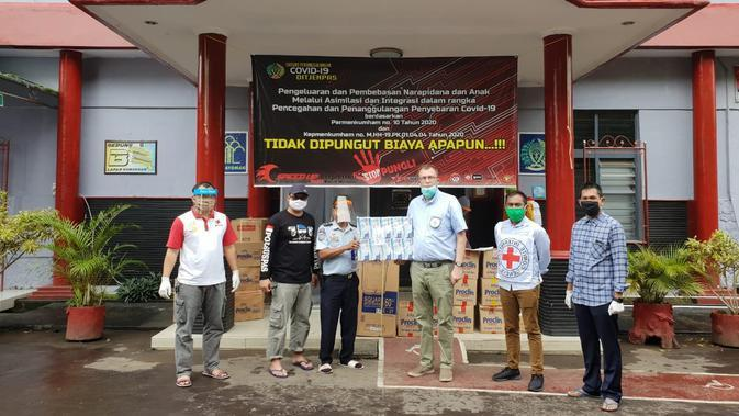 Palang Merah Internasional Beri Paket Bantuan COVID-19 ke Penjara di Jabar dan Banten