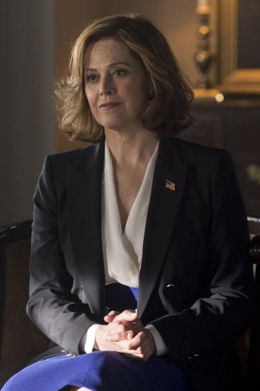 "Sigourney Weaver, ""Political Animals"""