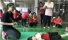 消防體驗活動 小小兵變身防災大英雄