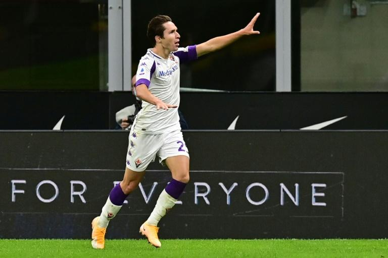 Italy winger Chiesa joins Juventus in 60 million-euro deal