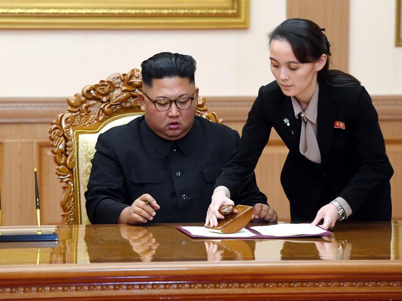 北韓第一公主 金正恩同母胞妹