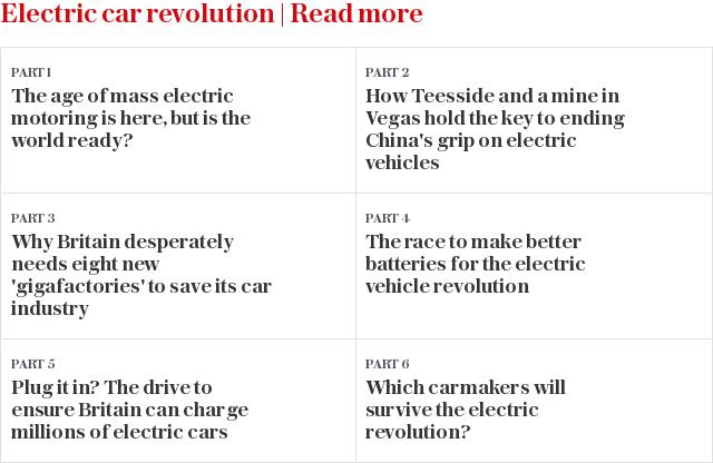 Electric car revolution | Read more