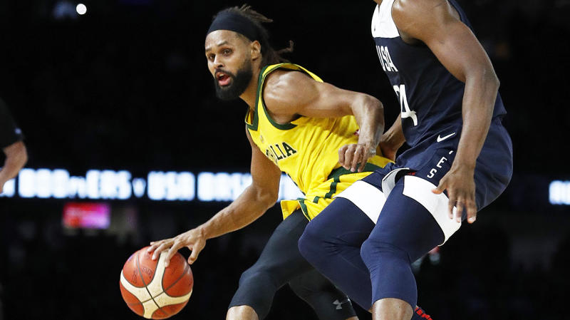 Patty Mills was the cornerstone of Australia's four-point win over Team USA.