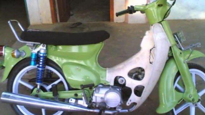 Motor Ini Dijauhi Pedagang padahal Bukan Curian