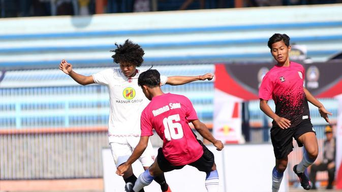 Amiruddin Bagus Kahfi, pemain Timnas Indonesia dan Barito Putera. (Bola.com/Nandang Permana)