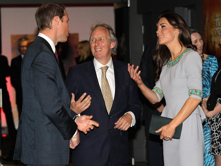 The Duke And Duchess Of Cambridge Attend African Cats - UK Premiere in Aid of Tusk