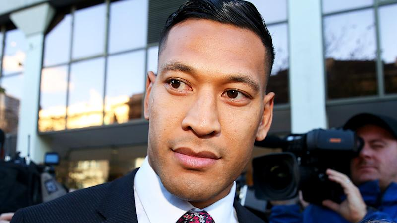 Israel Folau, pictured outside the Federal Court, says he knew his controversial Instagram post would be considered offensive.