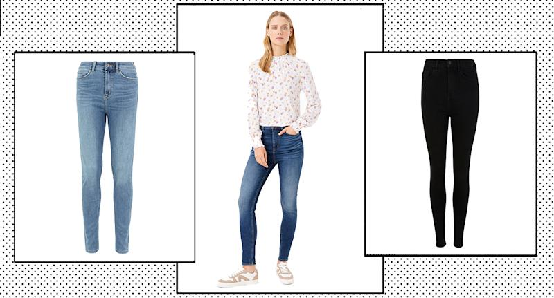"Marks and Spencer's Carrie Skinny Jeans have been hailed the ""most comfortable jeans ever"" by shoppers. (M&S/ Yahoo Style UK)"