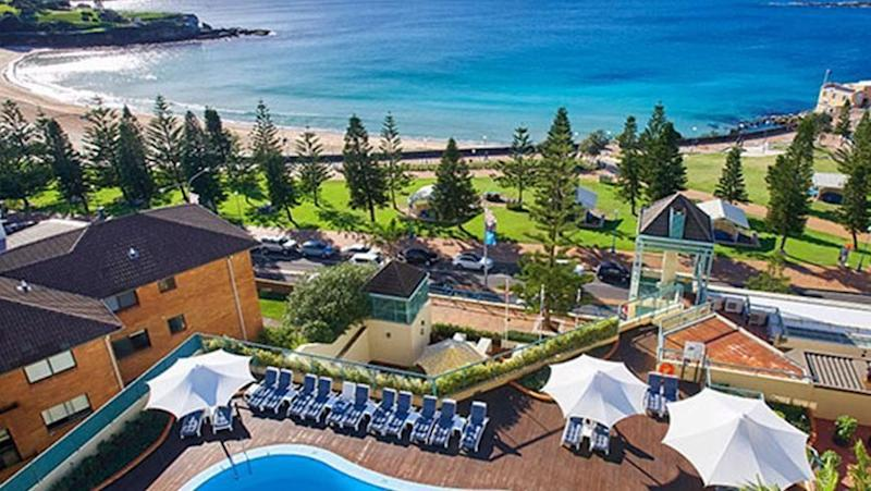 You'll get some killer shots of the skyline from your hotel room. Source: Crowne Plaza Coogee