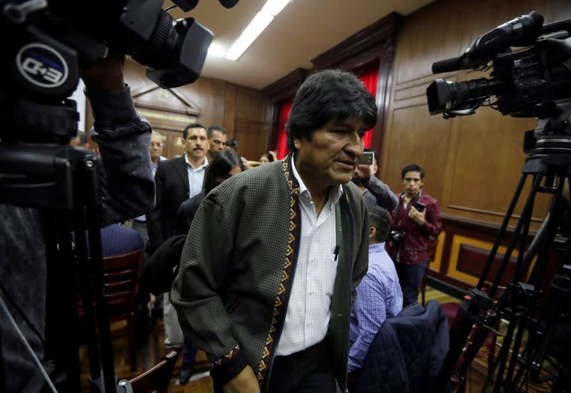 Bolivia election rigging in favour of Morales was 'overwhelming' - OAS final report