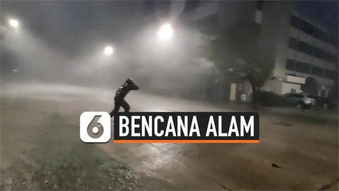 VIDEO: Badai Sally Hantam Wilayah Florida Amerika Serikat