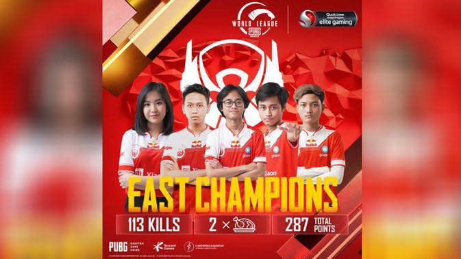 Tim Esports Indonesia Bigetron RA Juarai PMWL Season Zero Wilayah Timur
