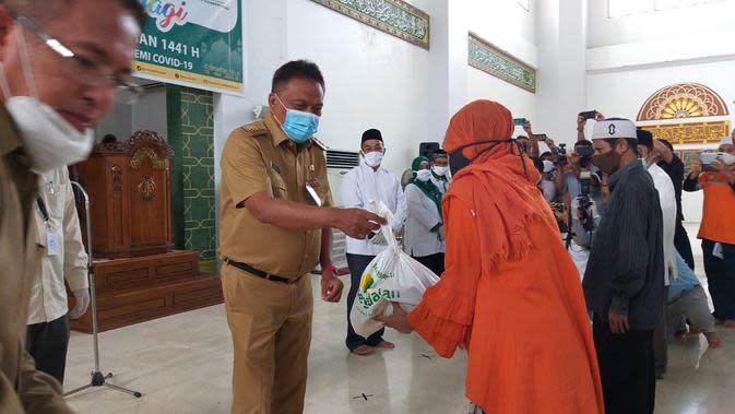 Bantuan 1.500 Paket Ramadan dari Baznas Sulut untuk Mustahik di Manado