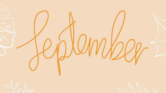 September (pixabay.com)