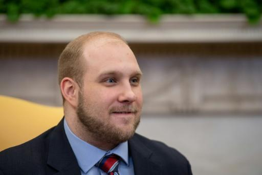 """Joshua Holt, who had been detained in Venezuela for almost two years, said at the White House after his release that he is """"overwhelmed with gratitude"""""""