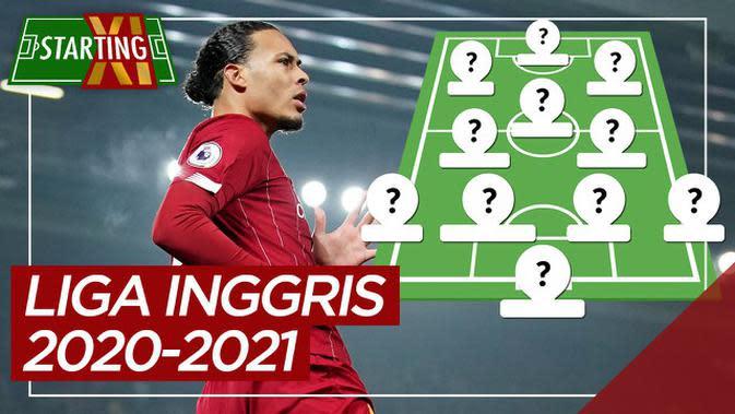 MOTION GRAFIS: Starting XI Pemain Paling Bernilai Liga Inggris Musim 2020/2021, Didominasi Liverpool