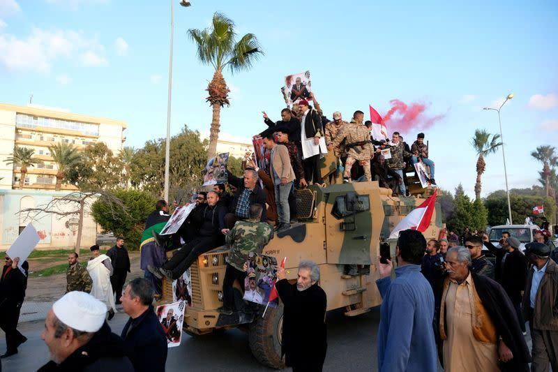 'Banyak' laporan penjarahan di kota-kota Libya yang direbut kembali, kata PBB