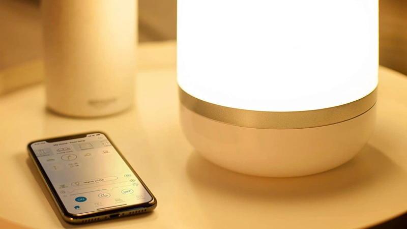 Screenshot of the WiZ Smart LED Lamp