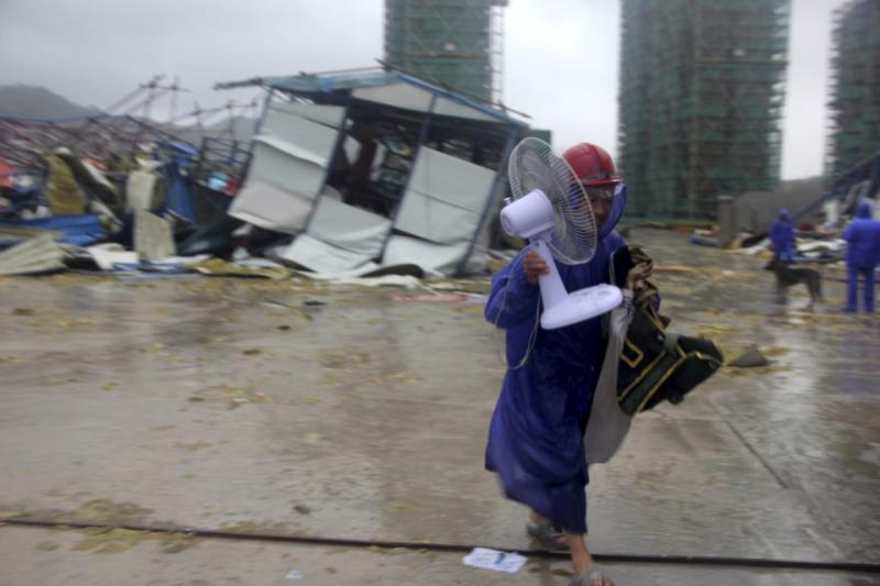 TV negara China: Sedikitnya 18 orang tewas, 14 hilang akibat topan