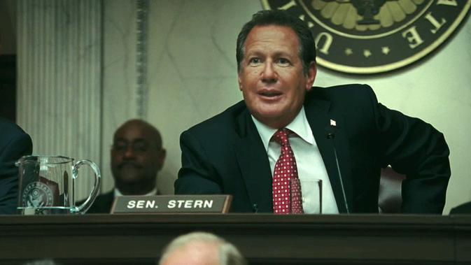 Garry Shandling pemeran Senator Stern di film-film Marvel. (Marvel Studios)