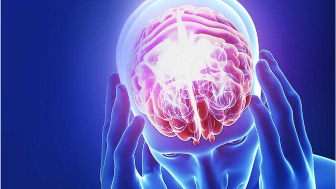 Ilustrasi saraf otak | medicalherald.com