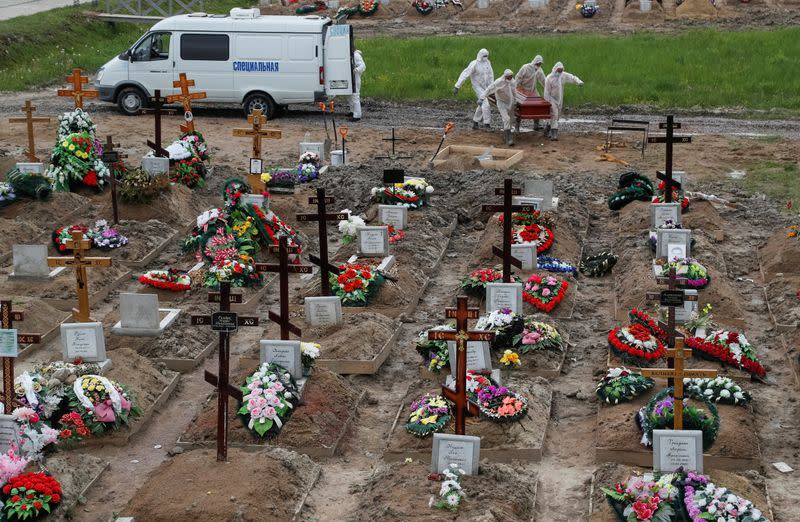 Russian excess deaths over summer outstrip COVID toll by more than 3 to 1