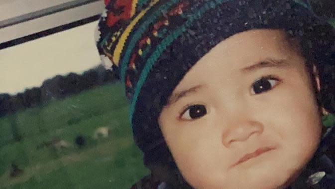 Potret masa kecil Nadya Arina (Sumber: Instagram/nadyaarina)