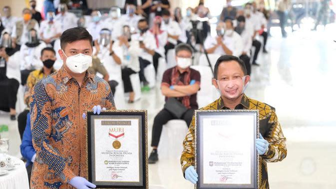 Gerakan 1 Juta Masker di Gowa Berawal dari Tantangan Mendagri Tito Karnavian