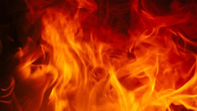 Ilustrasi kobaran api. (Sumber Pexels)