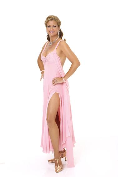 """Supermodel Kathy Ireland competes in season 9 of """"Dancing with the Stars."""""""