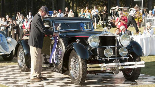 For a first-time car show judge, the verdict arrives slowly