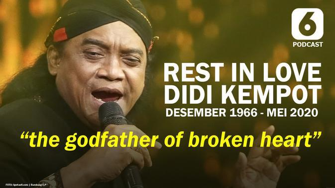 PODCAST Showbiz: Didi Kempot Rest in Love Bagian 1: The Godfather of Brokenheart