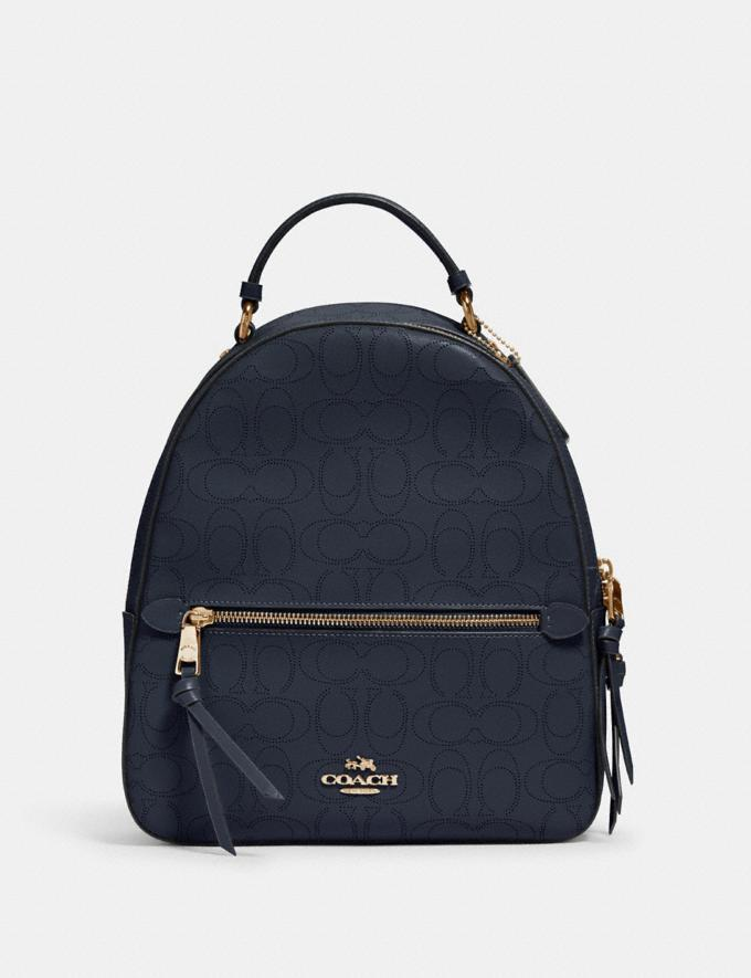 Jordyn Backpack In Signature Leather. Image via Coach Outlet.