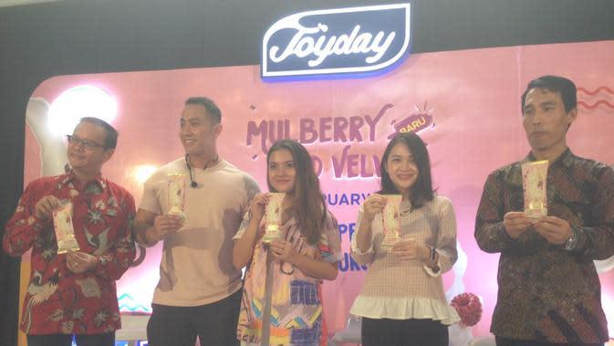 Es krim Joyday Mulberry Red Velvet (Foto: Rafinda/Fimela.com)