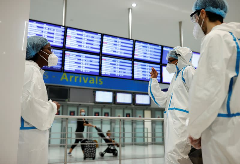 France readies COVID tests for travellers from at-risk countries