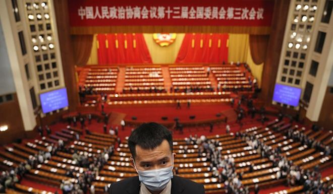 In May, Beijing unveiled a legislation outlawing acts of secession, subversion, terrorism and foreign interference in the city's affairs. Photo: AP