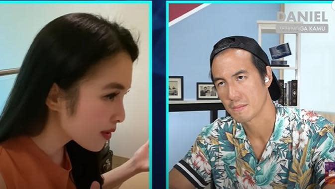 Hal itu diungkapkan perempuan dua orang anak itu dalam Youtube Daniel Mananta Network. Seperti diketahui, Daniel adalah pria yang mengenalkan Sandra Dewi dengan Harvey. (Youtube/Danniel Mananta Network)