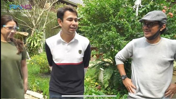 Andre Taulany sengaja mendatangi rumah Raffi Ahmad.